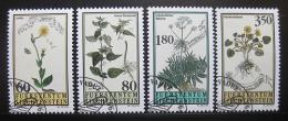 Poštovní známky Lichtenštejnsko 1995 Rostliny Mi# 1116-19
