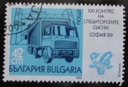 Poštovní známka Bulharsko 1989 Kongres pøepravcù Mi# 3780