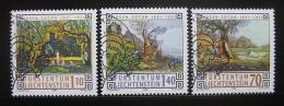 Poštovní známky Lichtenštejnsko 1996 Umìní Mi# 1138-40
