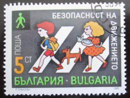 Poštovní známka Bulharsko 1989 Dìti na pøechodu Mi# 3805