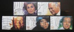 Poštovní známky Nìmecko 2000 Herci Mi# 2143-47 Kat 12€