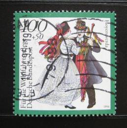 Poštovní známka Nìmecko 1994 Lidové kroje, Sasko Mi# 1760