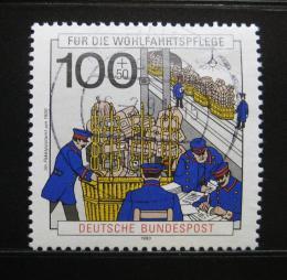 Poštovní známka Nìmecko 1990 Pošta Mi# 1476