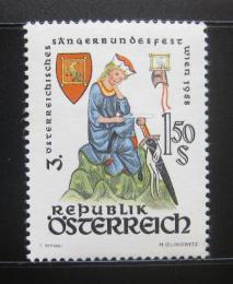 Poštovní známka Rakousko 1958 Hudební festival Mi# 1043