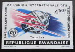 Poštovní známka Rwanda 1965 Výroèí ITU neperf. Mi# 116 B Kat 21€