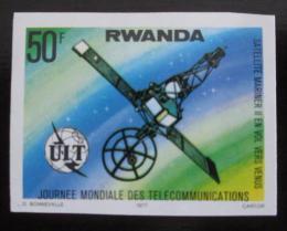 Poštovní známka Rwanda 1977 Kosmická sonda neperf. Mi# 880 B Kat 9€