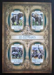 Poštovní známky Èad 2017 Sloni Mi# 2864-67 Kat 13€