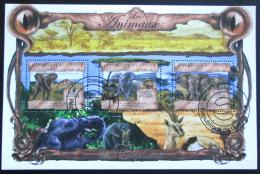 Poštovní známky Guinea 2013 Sloni Mi# 9825-27 Kat 20€