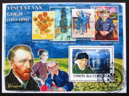 Poštovní známka Komory 2009 Umìní, Vincent van Gogh Mi# Block 462 15€