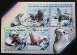 Poštovní známky Niger 2014 Lachtani Mi# 2860-63 Kat 12€