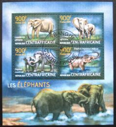 Poštovní známky SAR 2013 Sloni Mi# 4455-58 Kat 16€
