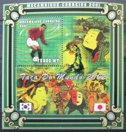 Poštovní známka Mosambik 2001 Cafu Mi# 1878 Kat 13.50€