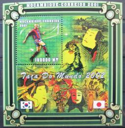 Poštovní známka Mosambik 2001 Ronaldo Mi# 1880 Kat 13.50€