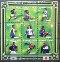 Poštovní známky Mosambik 2001 MS ve fotbale Mi# 1829-37