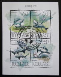 Poštovní známky Togo 2013 Žraloci Mi# 5406-09 Kat 12€