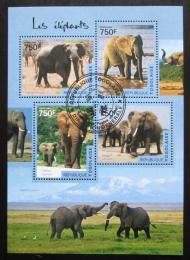 Poštovní známky Togo 2013 Sloni Mi# 6136-39 Kat 12€