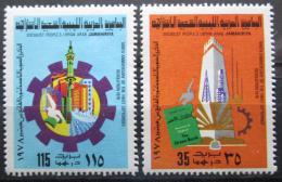Poštovní známky Libye 1978 Záøiová revoluce Mi# 656-57