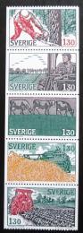 Poštovní známky Švédsko 1979 Hospodáøství Mi# 1060-64