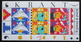 Poštovní známky Nizozemí 1993 Dìti a média Mi# Block 39
