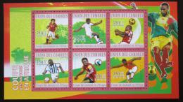 Poštovní známky Komory 2010 Africký pohár národù Mi# 2838-43 Kat 10€