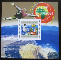 Poštovní známka Komory 2010 MS ve fotbale Mi# Block 599 Kat 15€