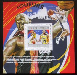 Poštovní známka Komory 2010 Basketbalisti Mi# Block 601 Kat 15€