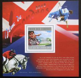 Poštovní známka Komory 2010 LOH Londýn Mi# Block 609 Kat 15€
