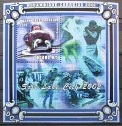 Poštovní známka Mosambik 2001 ZOH Salt Lake Mi# Block 90 Kat 10€