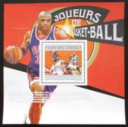 Poštovní známka Komory 2010 Basketbalisti Mi# Block 602 Kat 15€