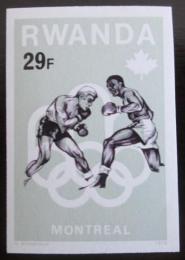 Poštovní známka Rwanda 1976 LOH, box neperf. Mi# 805 B Kat 19.40€