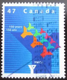 Poštovní známka Kanada 2001 YMCA, 150. výroèí Mi# 2020