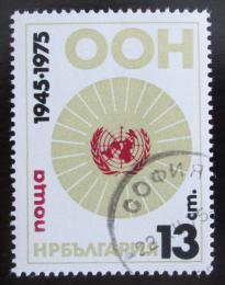 Poštovní známka Bulharsko 1975 OSN, 30. výroèí Mi# 2459