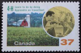 Poštovní známka Kanada 1988 Shromáždìní klubu 4-H Mi# 1095