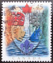 Poštovní známka Kanada 1996 Kanadská heraldika Mi# 1583