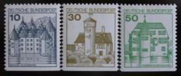 Poštovní známky Nìmecko 1979 Hrady,ze sešitku Mi# 913-14,1038 C