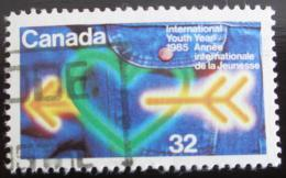 Poštovní známka Kanada 1985 Mezinárodní rok mládeže Mi# 944