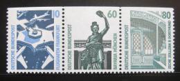 Poštovní známky Nìmecko 1989 Pamìtihodnosti, ze sešitku