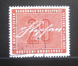 Poštovní známka Nìmecko 1956 Heinrich von Stephan Mi# 227