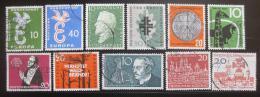Poštovní známky Nìmecko 1958 Nekompletní roèník