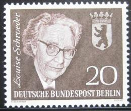 Poštovní známka Západní Berlín 1961 Louise Schroeder, politièka Mi# 198