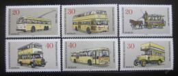 Poštovní známky Západní Berlín 1973 Veøejná doprava Mi# 446-51