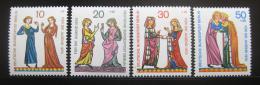 Poštovní známky Západní Berlín 1970 Minesengøi Mi# 354-57