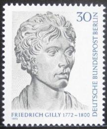 Poštovní známka Západní Berlín 1972 Friedrich Gilly, sochaø Mi# 422