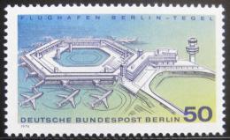Poštovní známka Západní Berlín 1974 Letištì Berlin-Tegel Mi# 477