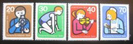 Poštovní známky Západní Berlín 1974 Aktivity mládeže Mi# 468-71