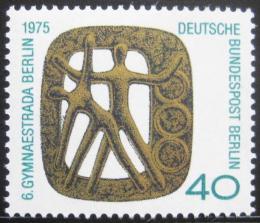 Poštovní známka Západní Berlín 1975 Gymnastriáda Mi# 493