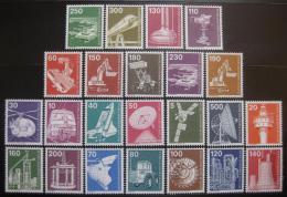 Poštovní známky Západní Berlín 1975-82 Prùmysl a technika komplet Mi# 494-507,582-86,668-72 Kat 48€