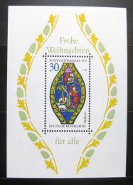 Poštovní známka Západní Berlín 1976 Vánoce Mi# Block 5