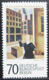 Poštovní známka Západní Berlín 1977 Výstava umìní Mi# 551