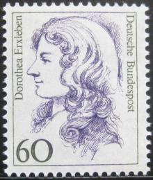 Poštovní známka Nìmecko 1987 Dorothea Erxleben, lékaøka Mi# 1332